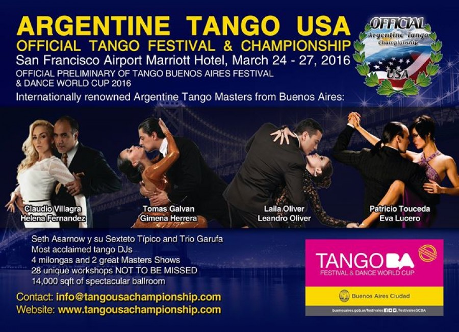 USA Official Tango Festival Championship