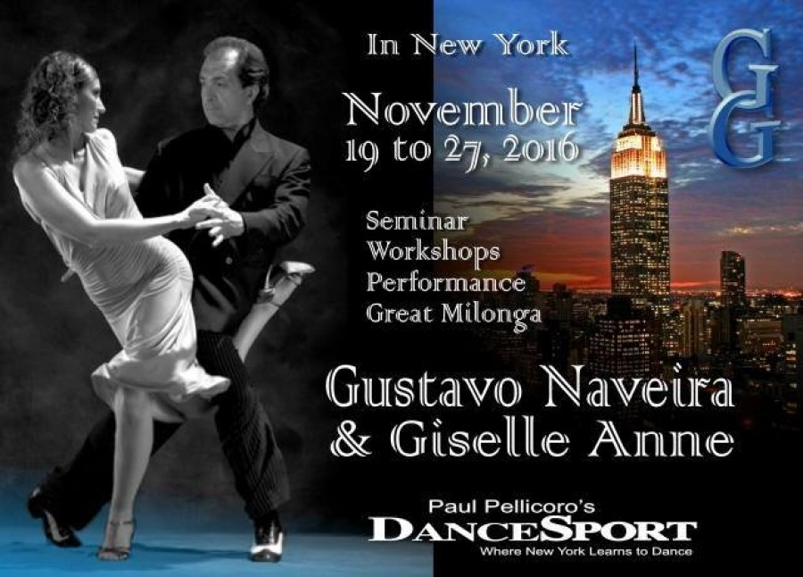 Thanksgiving Week with Gustavo Naveira y Giselle Anne