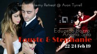 Fausto Carpino and  Stephanie Fesneau at Tango Reatreat