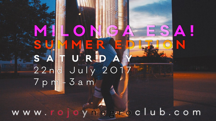 Milonga ESA Summer edition 22nd July 2017