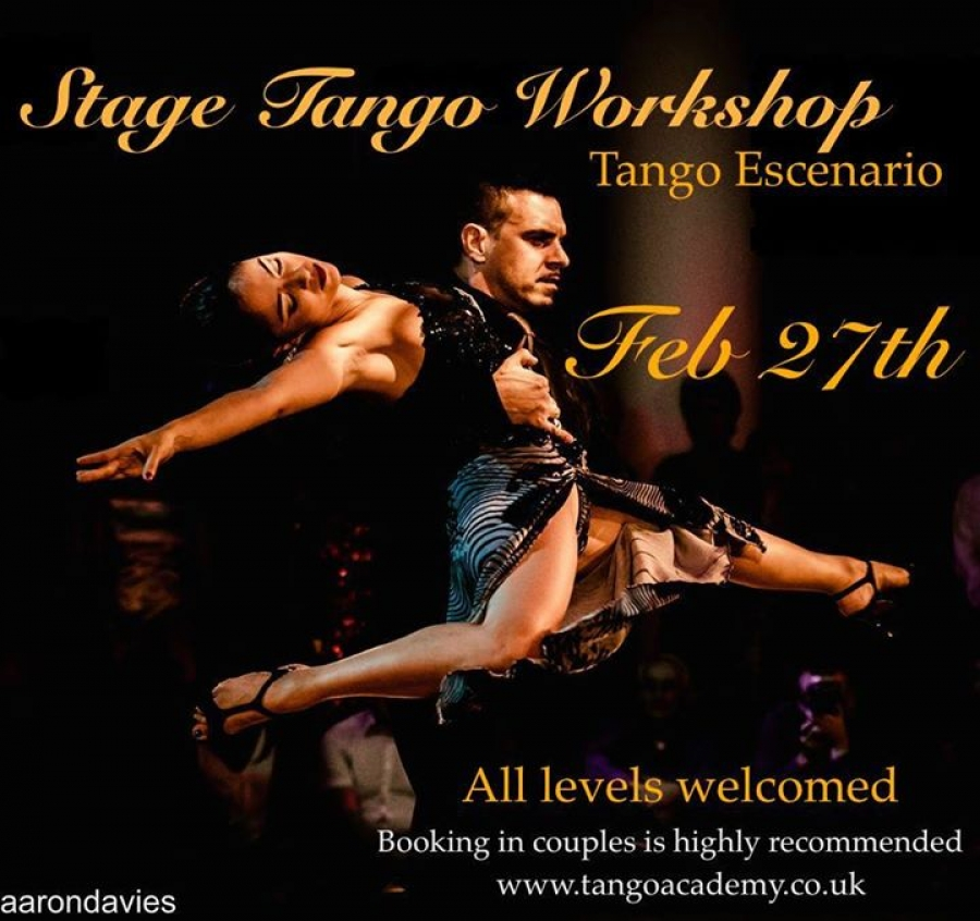 Stage Tango Workshop