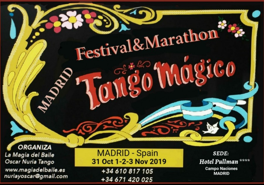 8 FESTIVAL and MARATHON TANGO MAGICO Madrid