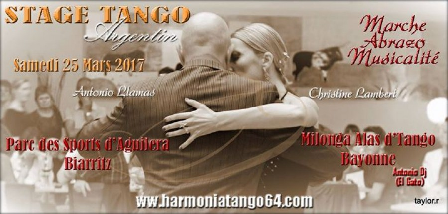 Stage Tango Argentin a BIarritz