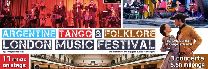 The Argentine tango folklore London music festival