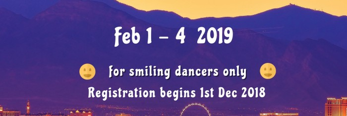 Vegas All-You-Can-Tango Weekend 1 - 4 Feb 2019