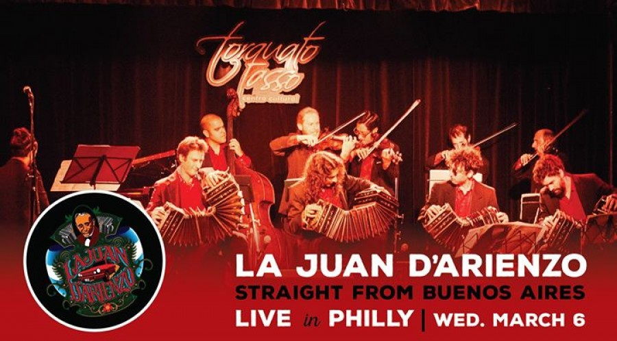 La Juan D Arienzo Orchestra Live in Philly
