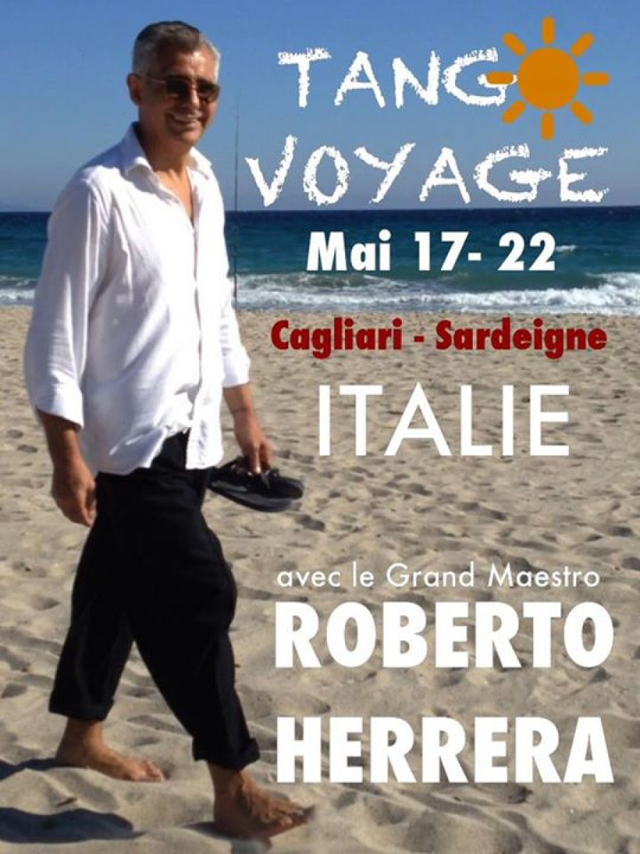 Tango Holiday in Sardinia ITALY with ROBERTO HERRERA
