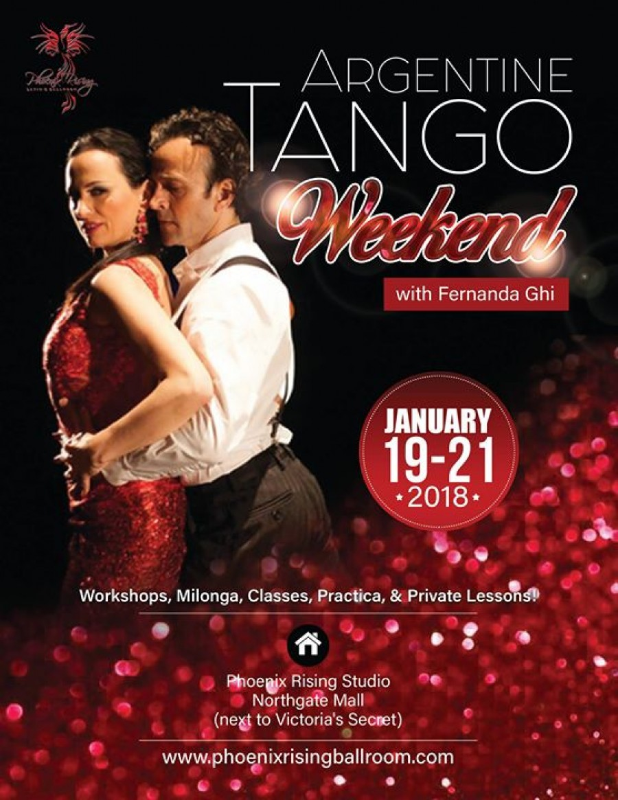 Argentine Tango Weekend with Fernanda Ghi