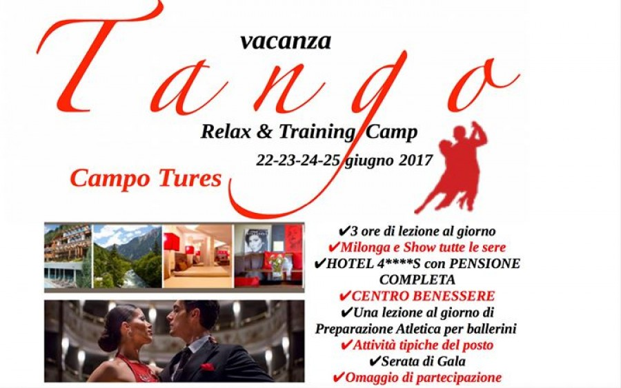 Tango Relax Training Camp Campo Tures