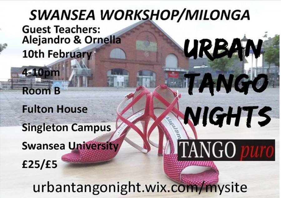 Argentine Tango Workshop and Milonga with Tangopuro
