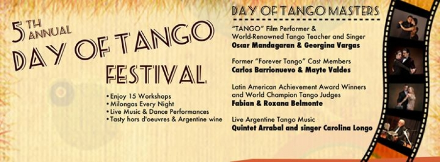 5th Annual Day of Tango Festival