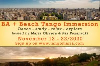 BA and Beach Tango Immersion