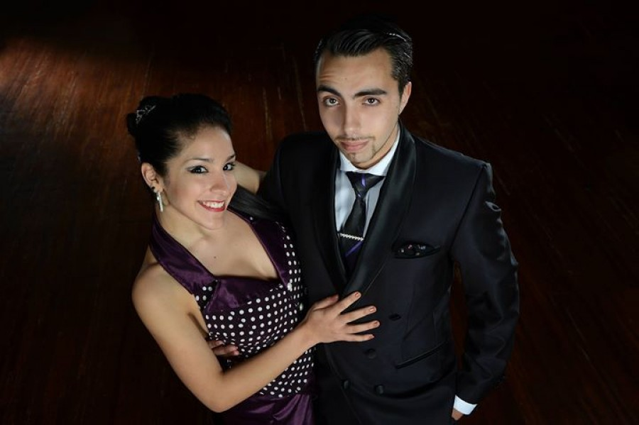Jonathan Saavedra and Clarisa Aragon Salon tango seminars