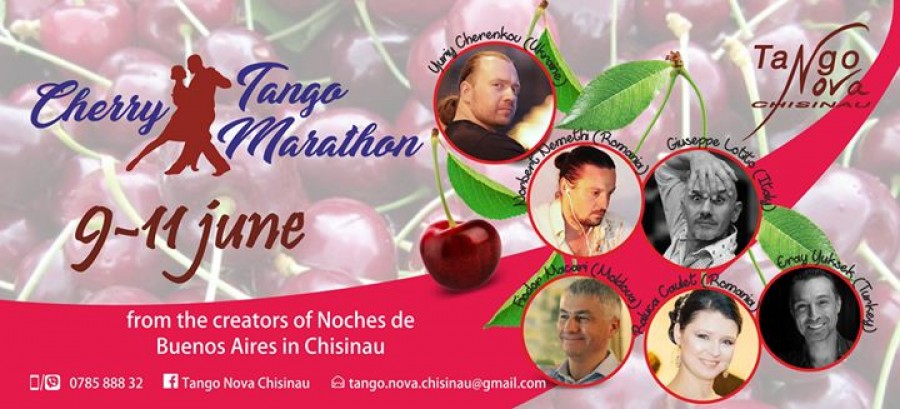 The First Cherry Tango Marathon