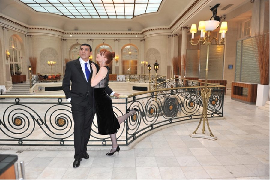 Festive Tango Supper in Palm Court
