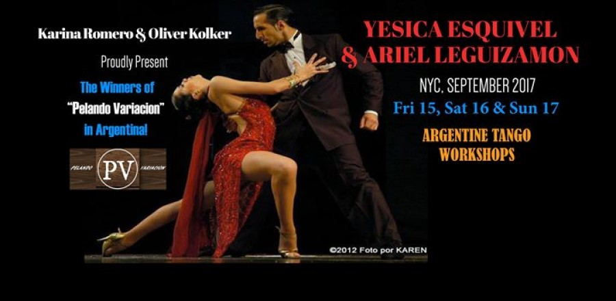 Yesica Esquivel Ariel Leguizamon in NYC Tango Workshops