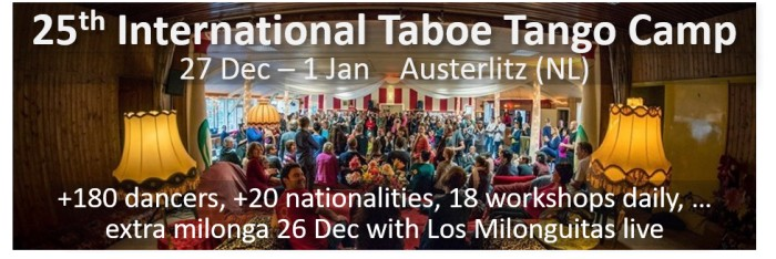 25th International Taboe Tango Camp