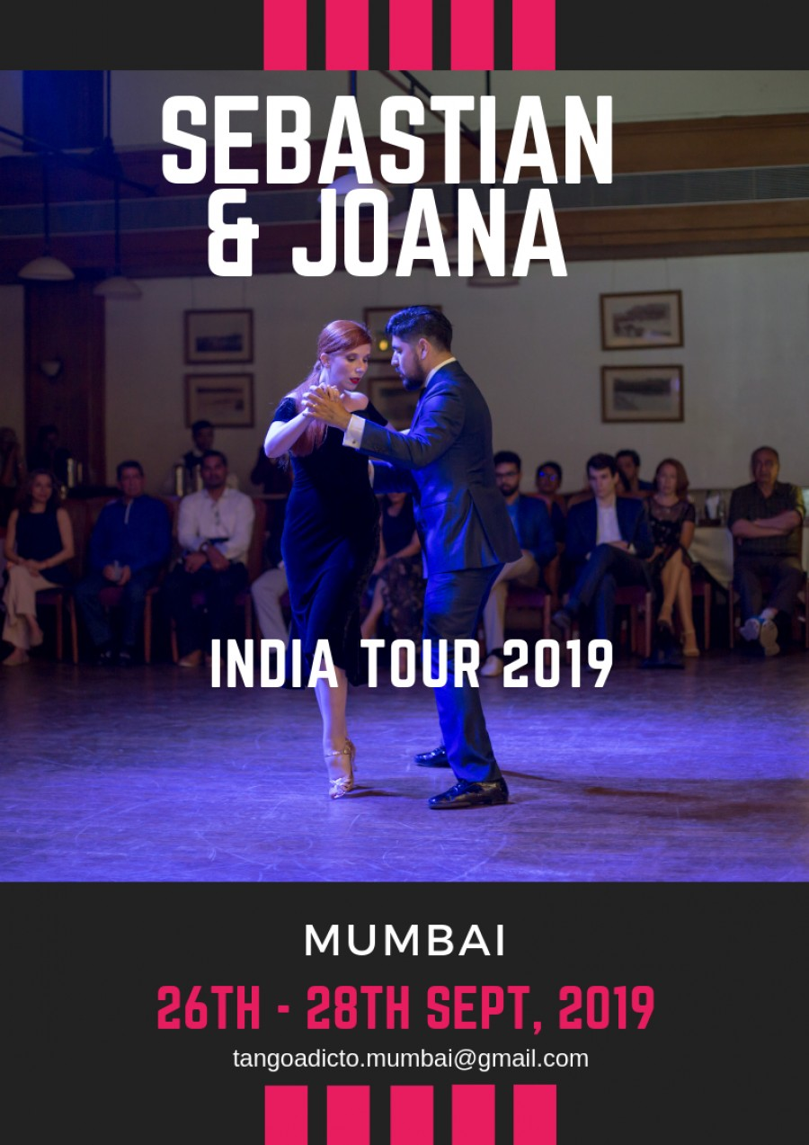 Sebastian and Joana India Tour 2019