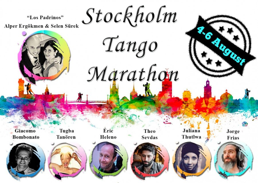 Stockholm Tango Marathon 4-6th August