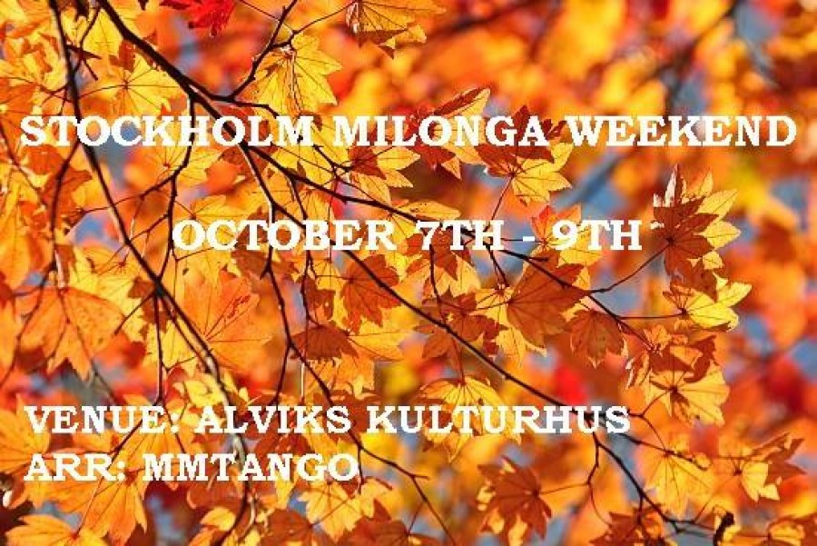 Stockholm Milonga Weekend