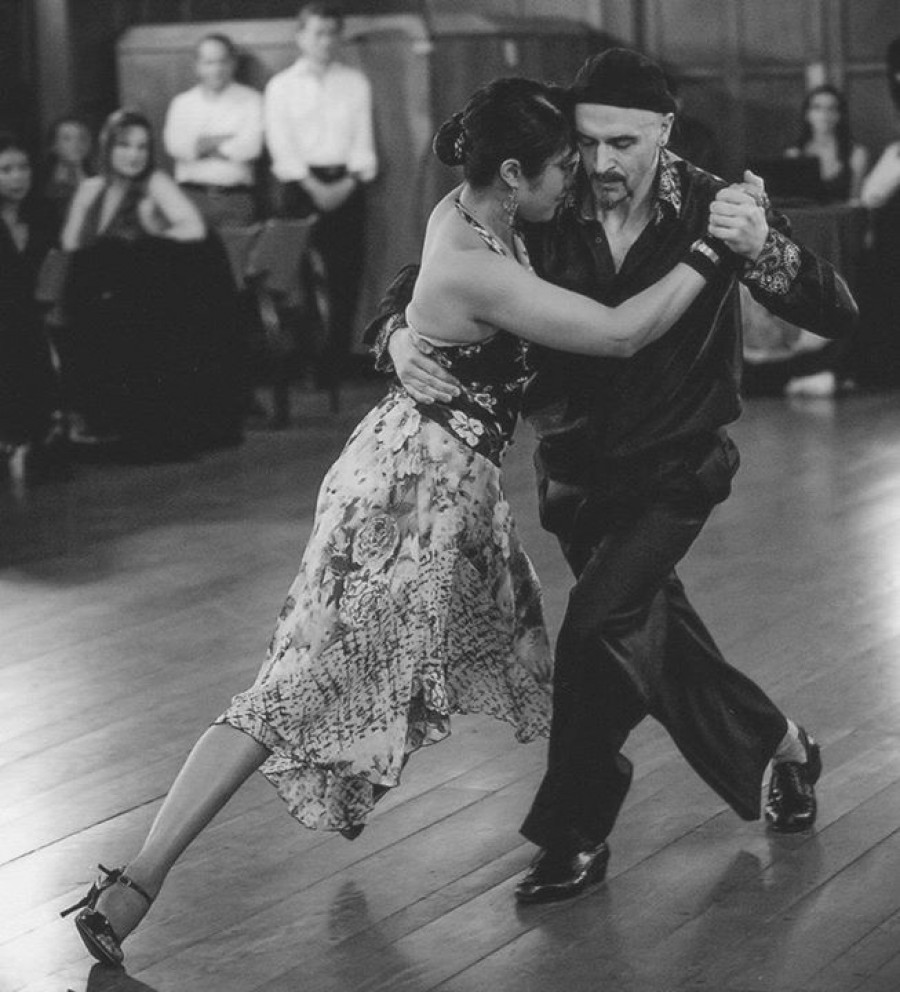 Tango Workshops with Homer and Cristina Firehouse 5