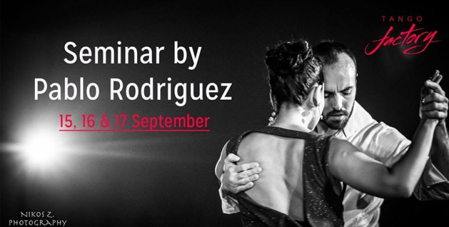 Seminar by Pablo Rodriguez Tango Factory Brussels