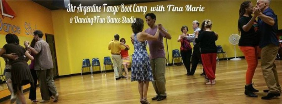 3hr Argentine Tango Boot Camp w Tina Marie