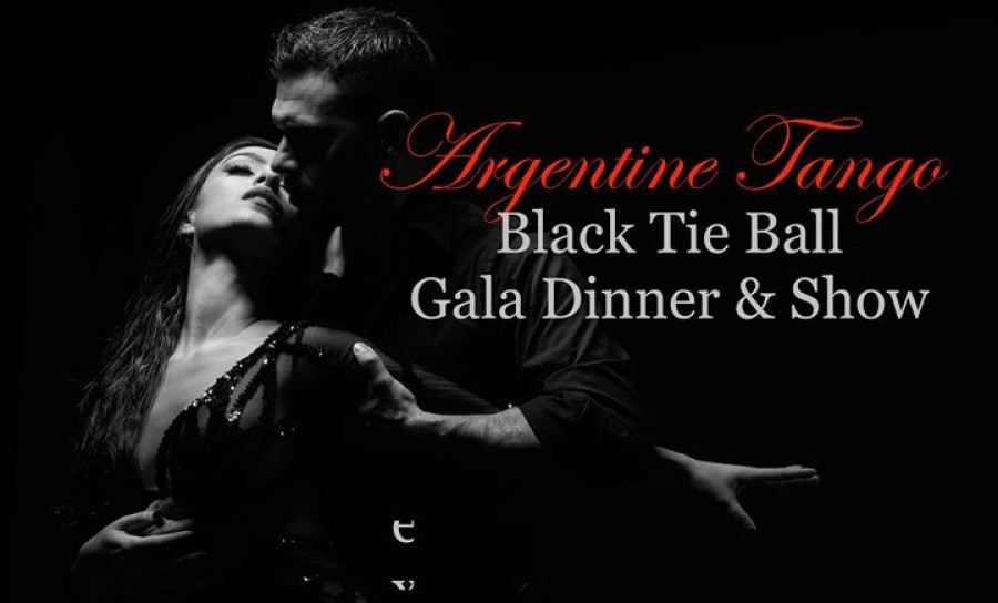 Argentine Tango Black Tie Ball Gala Dinner Show