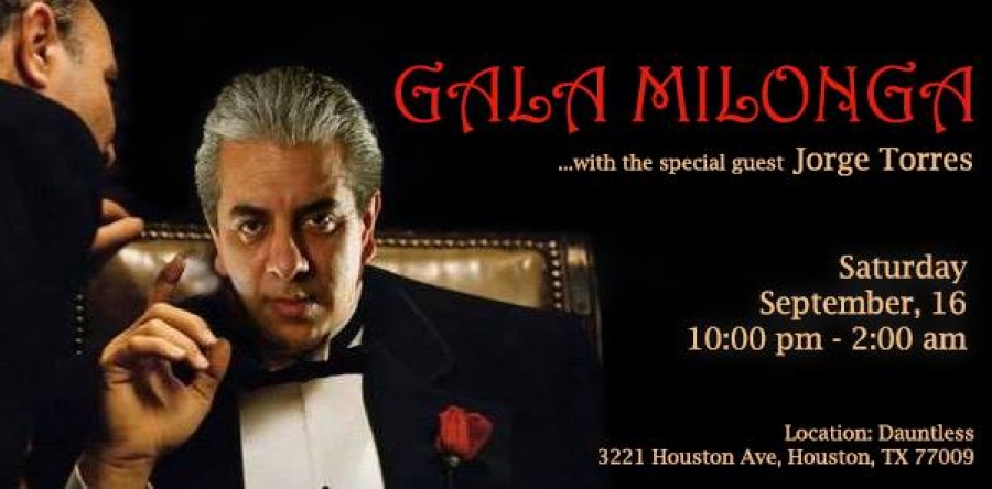 Gala Milonga with great maestro Jorge Torres