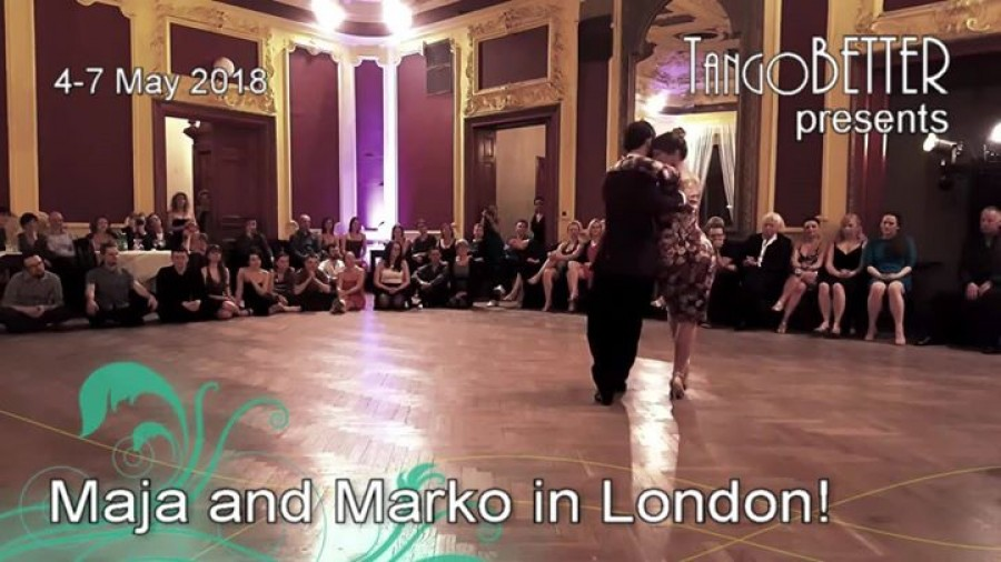 Maja and Marko in London
