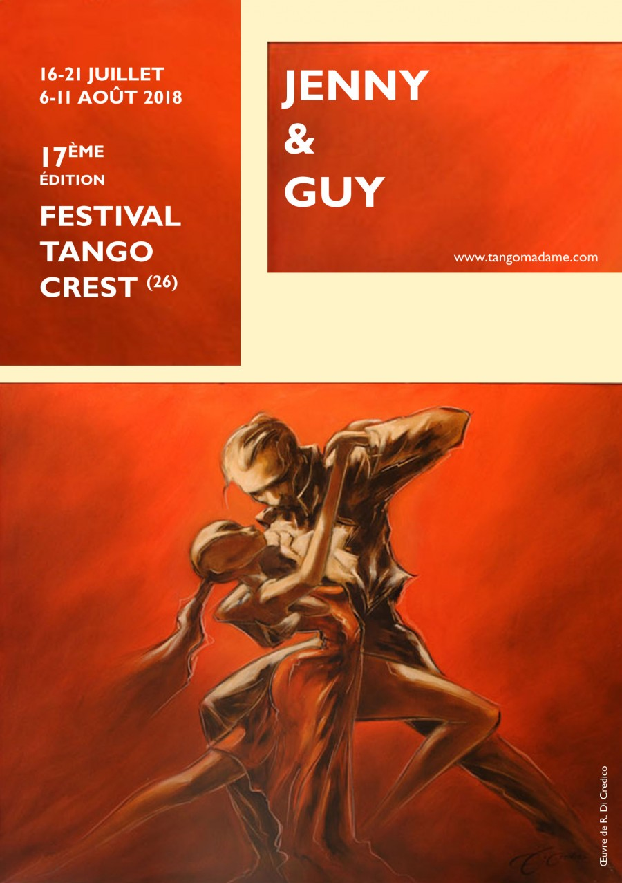 Festival Tango de Crest - France 1st session