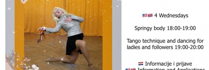 ONLINE TANGO ARGENTINO CROATIAN AND ENGLISH SEMINAR