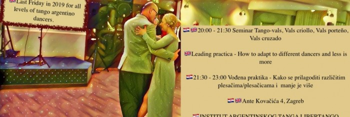 Seminar and practica tango argentino special edition