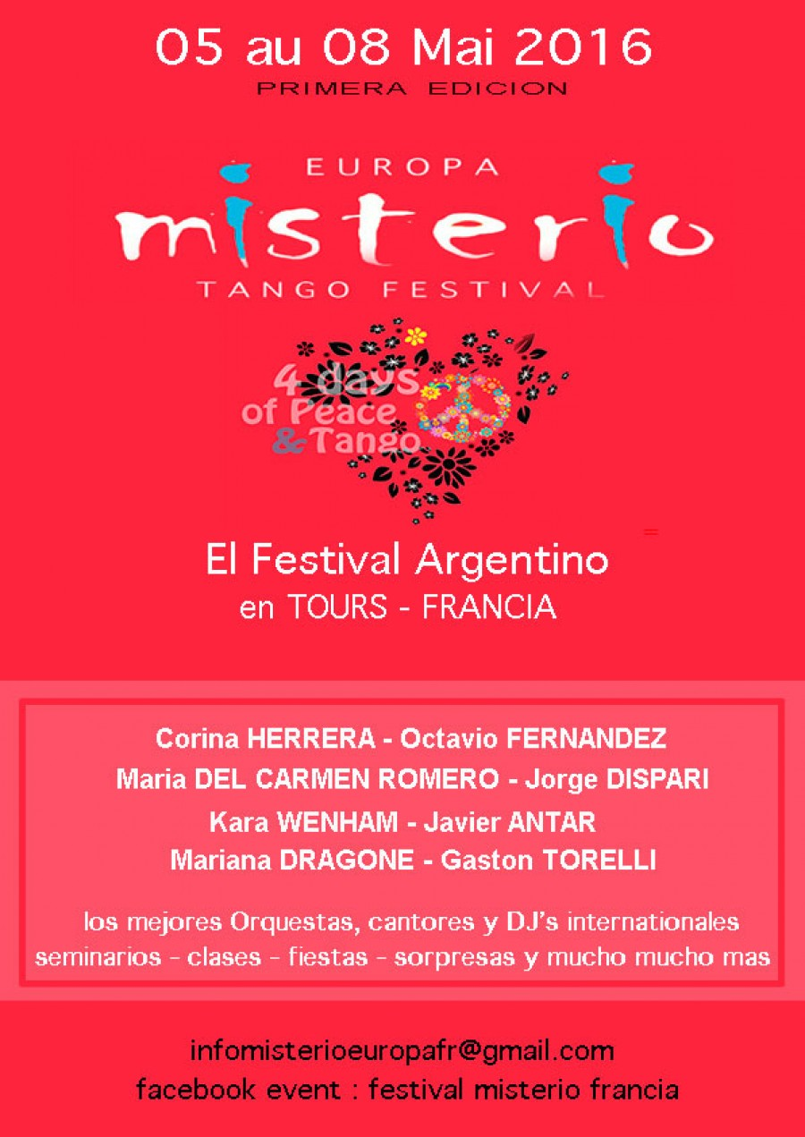 MISTERIO EUROPA ...  THE festival of Gaston Torelli