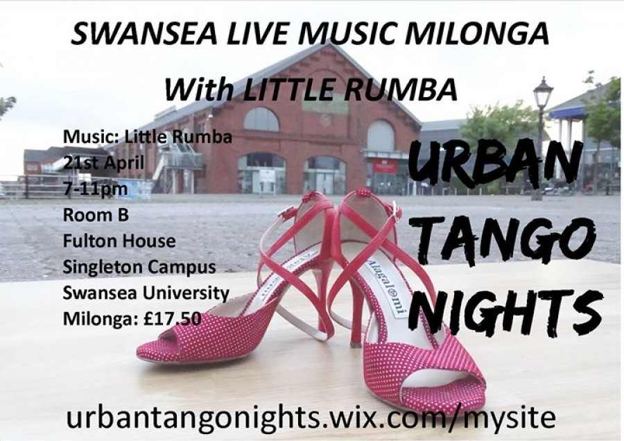 Swansea Live Music Milonga with Little Rumba