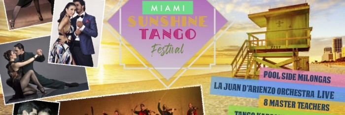 2nd Edition - MIAMI SUNSHINE TANGO FESTIVAL 2020