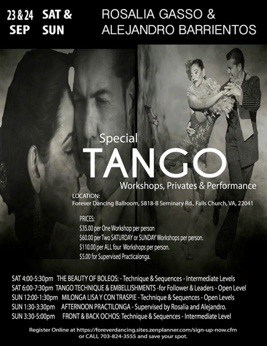 ArgentineTango Workshops Privates