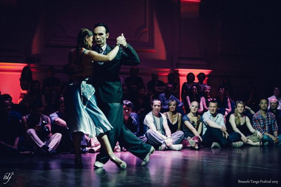 Tango Discovery workshop in La Tangueria Brussels