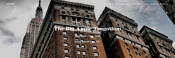 The Big Apple Tangothon 2020 in New York City