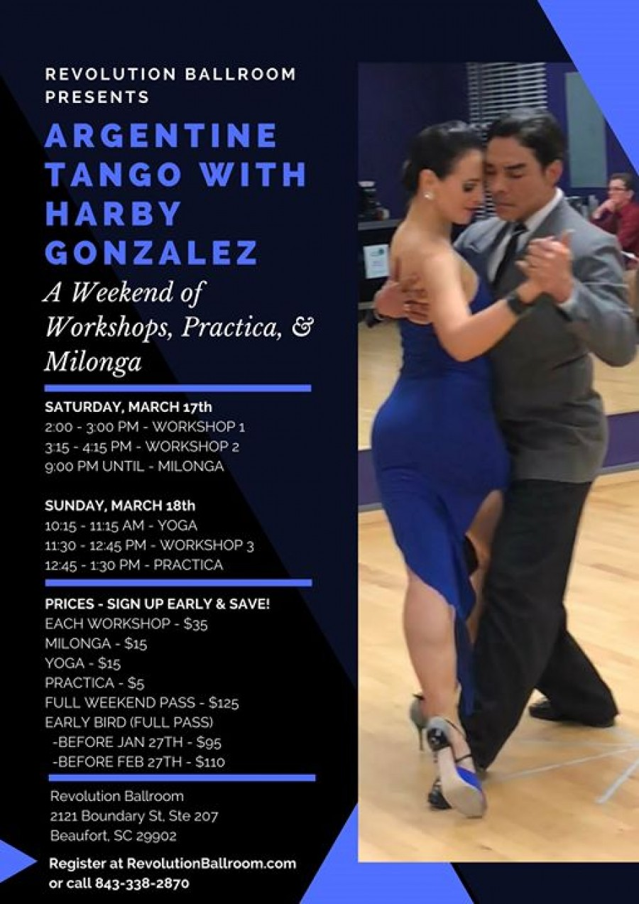 Argentine Tango Weekend With Harby Gonzalez