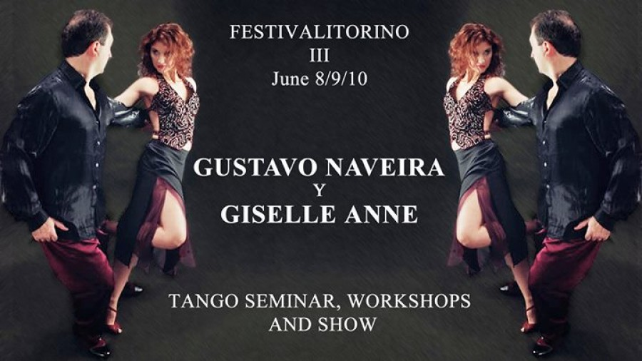 Gustavo Naveira y Giselle Anne a Torino