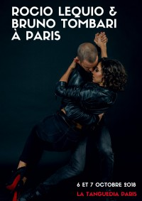 Rocio Lequio et Bruno Tombari, workshops and show, PARIS