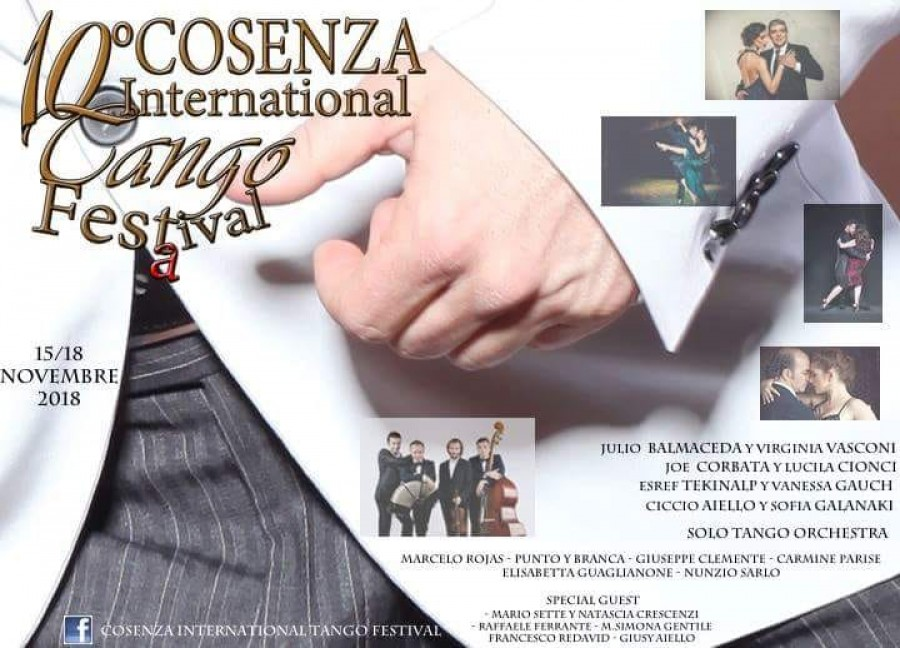 10 Cosenza International Tango Festival