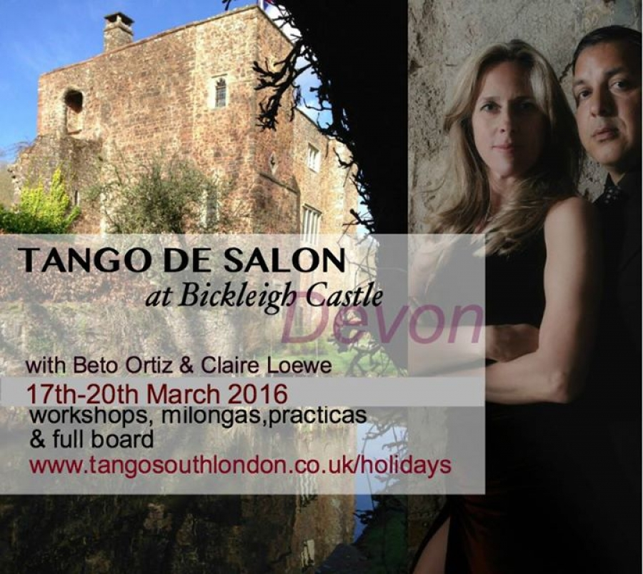 Tango de Salon weekend at Bickleigh Castle