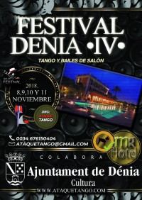 FESTIVAL DENIA SPAIN TANGO  SALON DANCES
