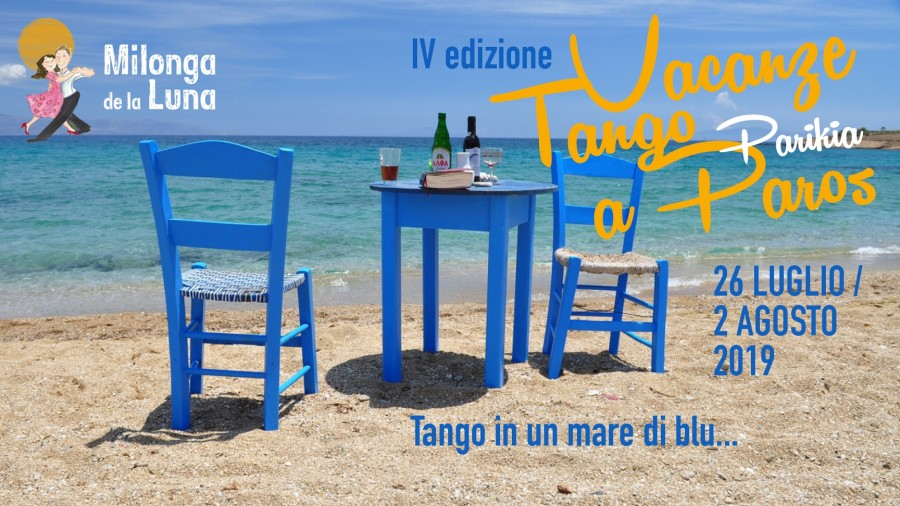 Tango Holiday in Paros, Cyclades