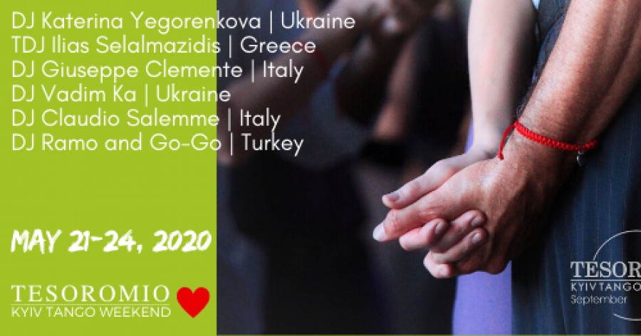 Tesoromio Tango Weekend Kyiv May 2020