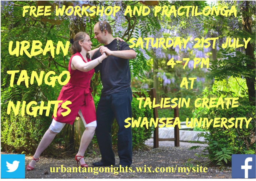 Free Swansea Tango Workshop and Practilonga