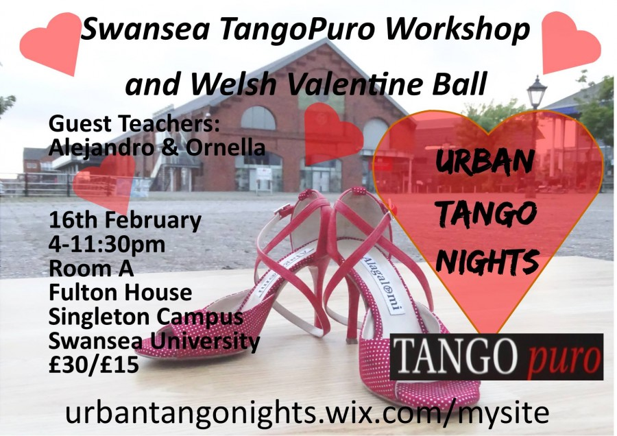 Swansea TangoPuro Workshop and Welsh Valentine Ball