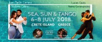 Sunny Tango Festival in Crete island, Greece, 6-8 July 2018